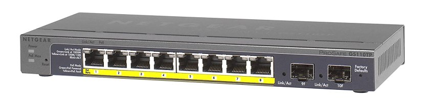 Un switch PoE à 8 ports