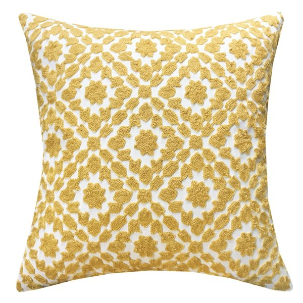 Farmhouse Fall Decor Ideas - 30 different embroidered pillow covers in multiple patterns and colors