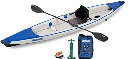 Sea Eagle Razorlite 393rl Inflatable Kayak Pro Solo Package