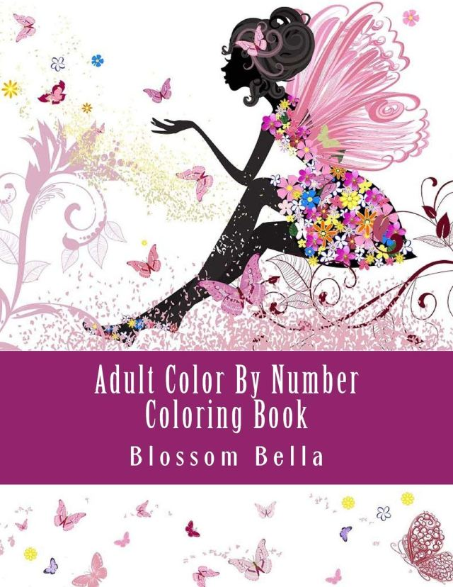 Amazon.com: Adult Color By Number Coloring Book: Jumbo Mega