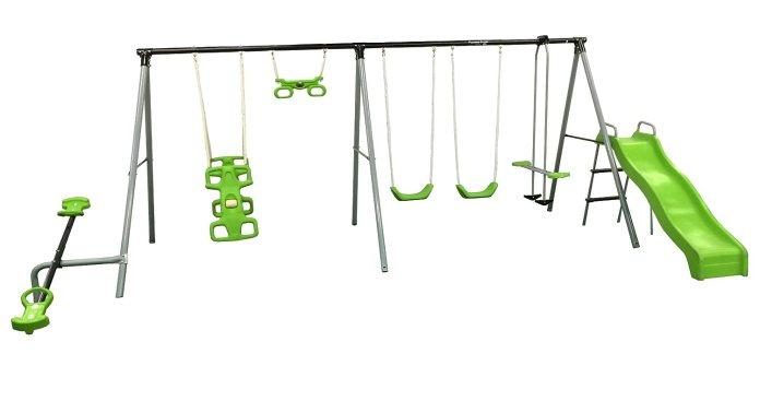 Flexible Flyer World Of Fun Swing Set