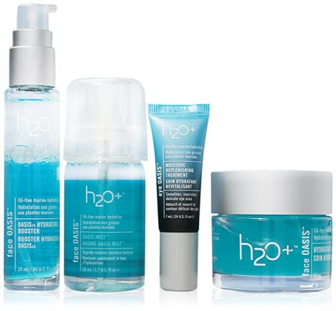 H2O+ Oasis Intensive Hydration System for Unisex 4 Piece Kit, pamper yourself