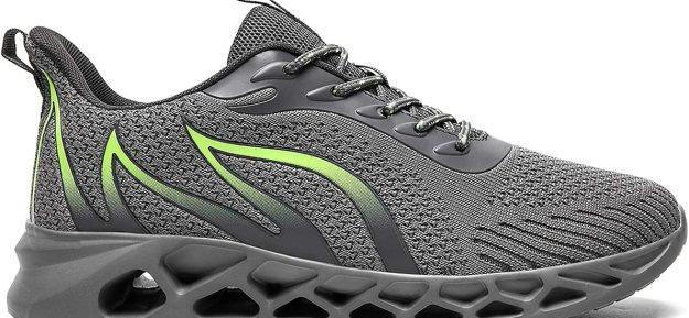 OBYMEUS Men's Running Walking Sneakers