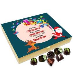 Chocholik Christmas Gift Box – May Cheer and Joy Be with You On Christmas Chocolate Box – 20pc