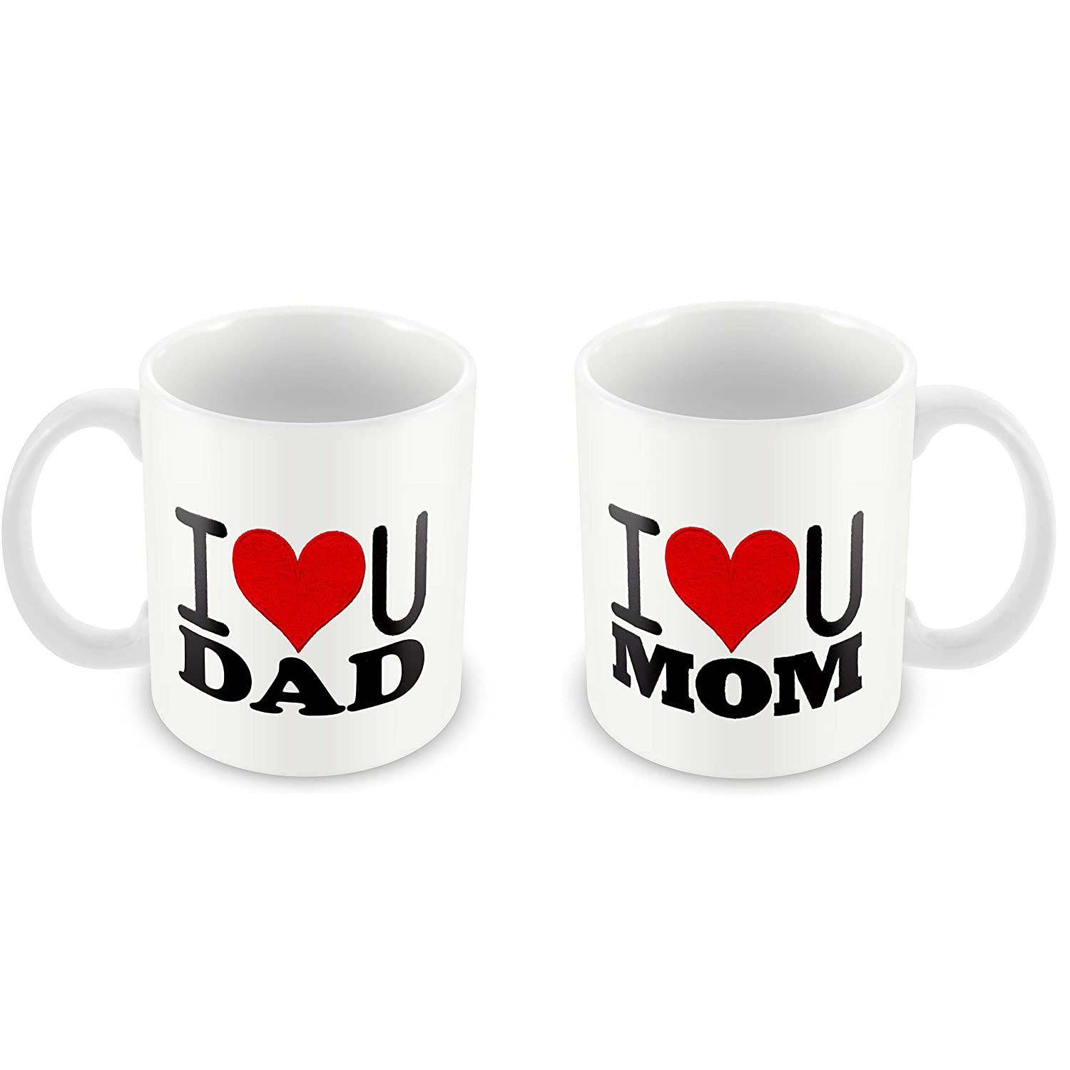 Buy Tuelip Mom Dad Birthday Gifts Anversary Gifts I Love You Mom Dad Tea And Coffee Mug 350 Ml Online At Low Prices In India Amazon In