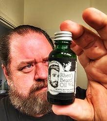 Rhett's Beard Oil - All natural - Scent of sandalwood, citrus, and rosemary - 1 fl oz bottle - Created by YouTube celebrities Rhett and Link from Good Mythical Morning Customer Image 1
