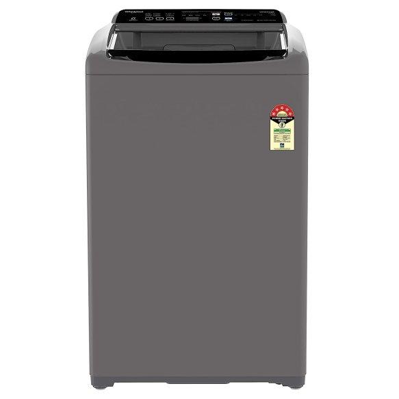 Whirlpool 7.5 Kg 5 Star Fully-Automatic Top Loading Washing Machine Under 20000 (WHITEMAGIC ELITE 7.5, Grey, Hard Water Wash)