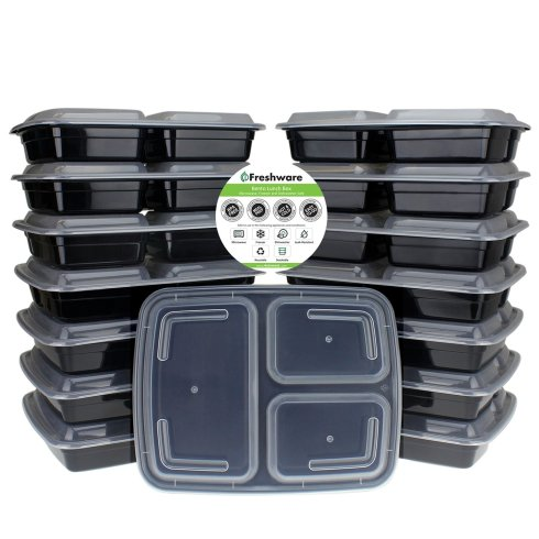 Freshware Meal Prep Containers review