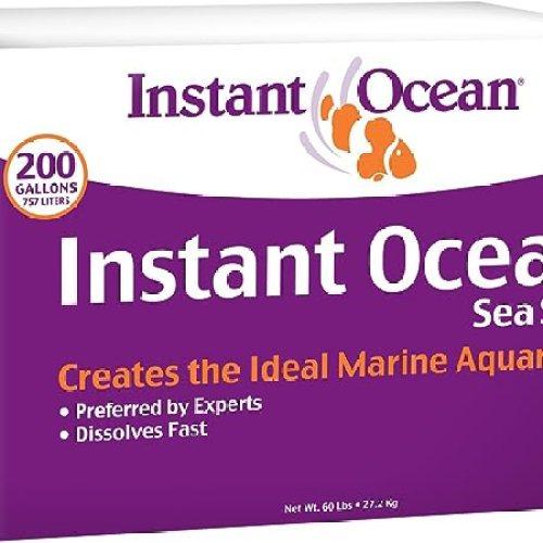 Instant Ocean Sea Salt for Marine Aquariums, Nitrate & Phosphate-Free