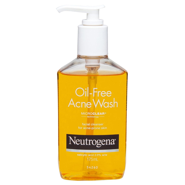 Image result for Neutrogena Oil-Free Acne Wash