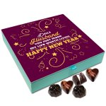 Chocholik New Year Gift Box – Happy New Year Dear Husband Chocolate Box – 9pc