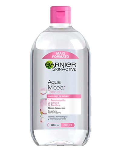 Image result for agua micelar pieles sensibles garnier