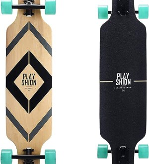 Best longboards: Playshion 39 Inch Drop Through Freestyle Longboard
