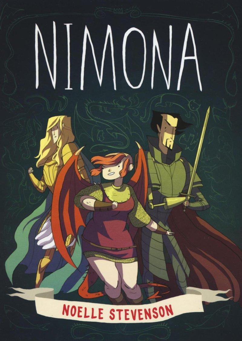 Copertina di Nimona
