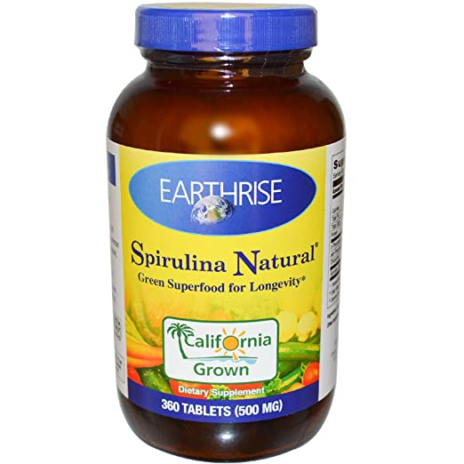 Earthrise Spirulina Tablets