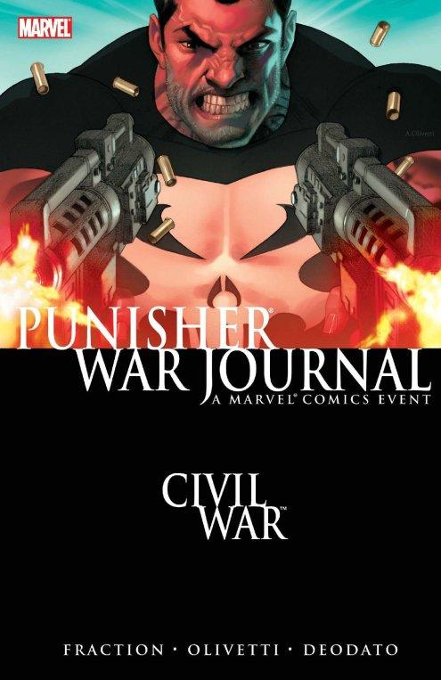 Image result for Punisher war journal civil war