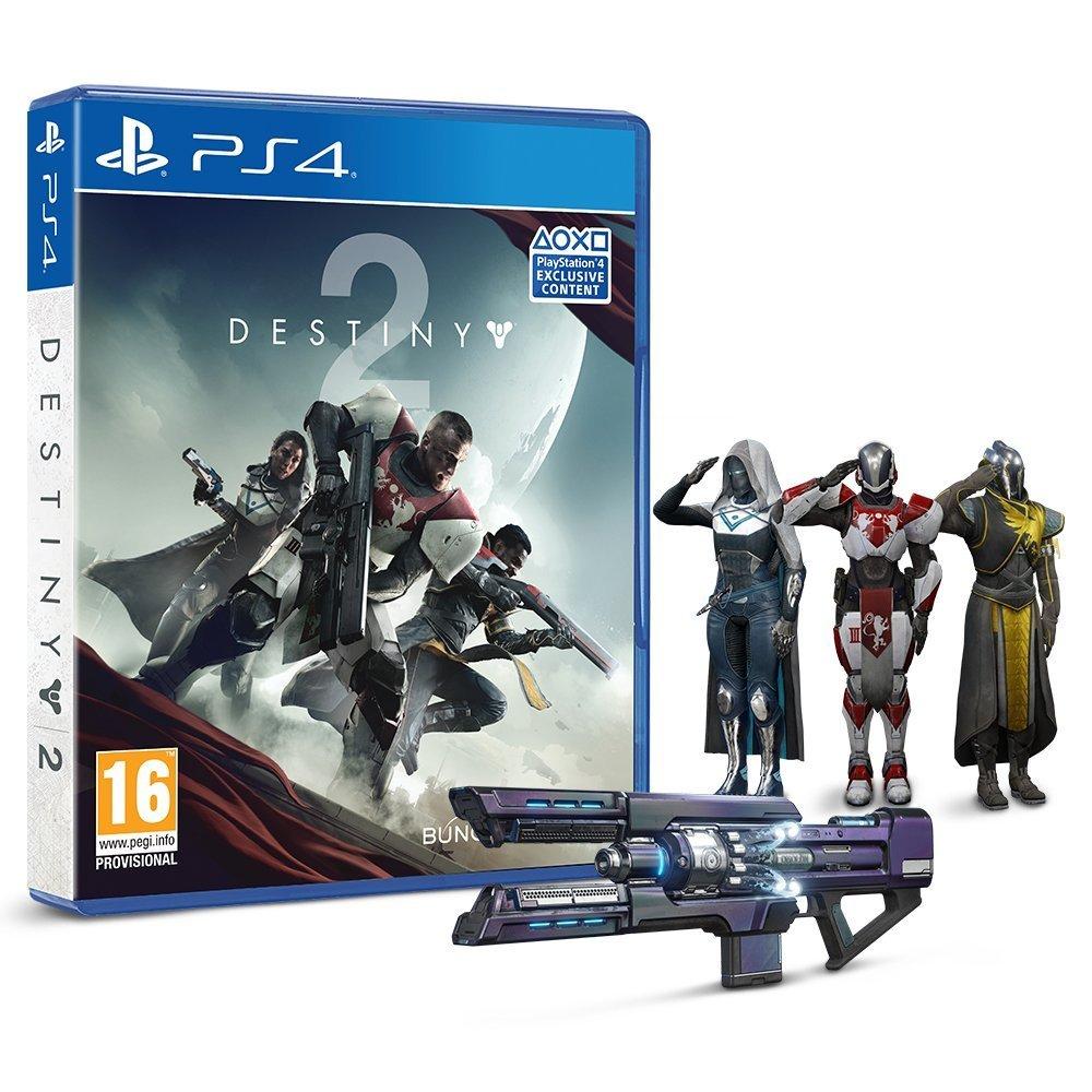 Destiny 2 + Emote Salut Militaire (exclusif Amazon)
