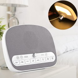 PROALLER White Noise Machine with 8 Relaxing Natural Sounds