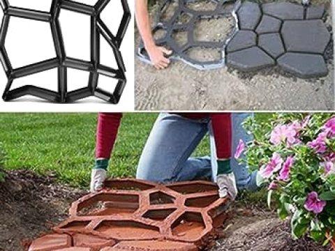 trittplatten für rasen leonc pflastersteine-from beton-form für trittsteine für