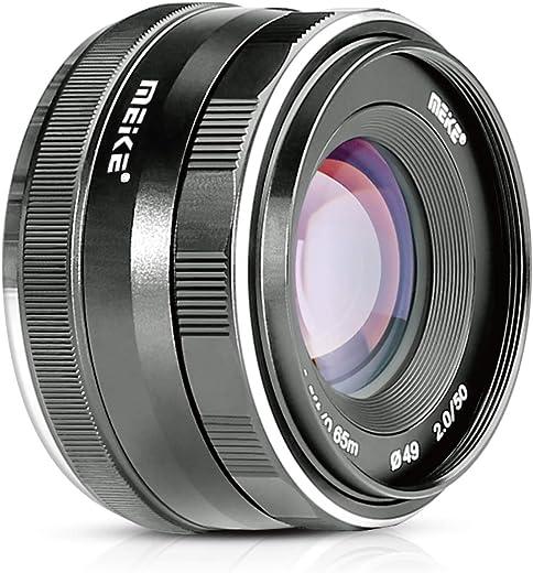 Meike MK-50mm F2.0 50mm f/2.0 APS-C Large Aperture Manual Focus Lens for Fuji X Mount Mirrorless Camera X-Pro2 X-E3 X-T1 X-T2 X-T3 X-T10 X-T20 X-T30 X-E2 X-T100 X-E1 X30 X70 XM1 X-A1 XPro1,etc