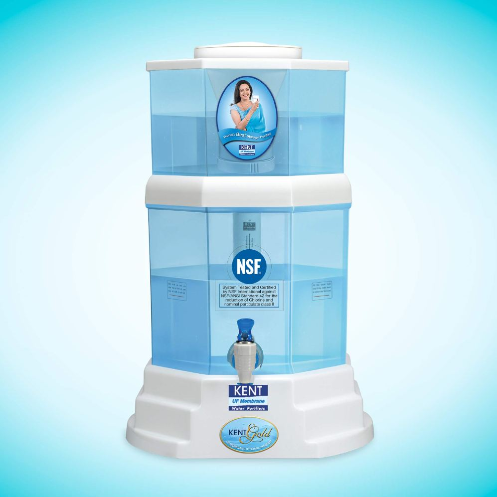 KENT Gold 20-Litres UF technology based Gravity Water Purifier