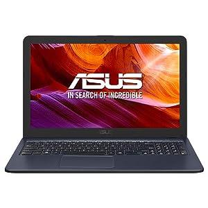 "Asus K543UA-GQ2534 - Portátil de 15.6"" (i3-7020U, 8GB RAM, 256 GB SSD, Endless OS) Gris Estrella - Teclado QWERTY Español"