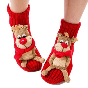 funny christmas socks like these are the perfect way to get into the holiday spirit