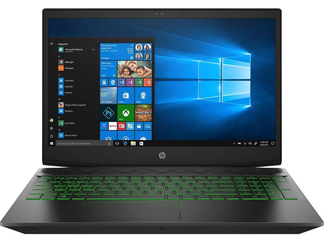 "HP Pavilion 15-cx0023nf PC Portable Gaming 15"" FHD Noir (Intel Core i5, 8 Go de RAM, 1 To + SSD 128 Go, Nvidia GeForce GTX 1050, Windows 10)"
