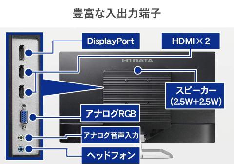 I-O DATA EX-LD3151DB 入力端子