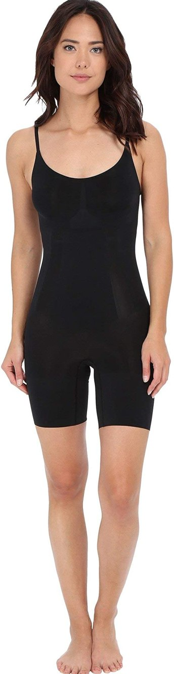 SPANX Women's Oncore Shapesuit, Very Black, MD