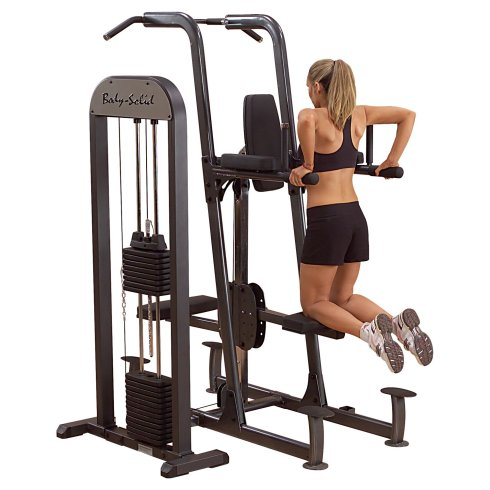 Body Solid Chin Pull-Up Dip Weight Assisted Machine