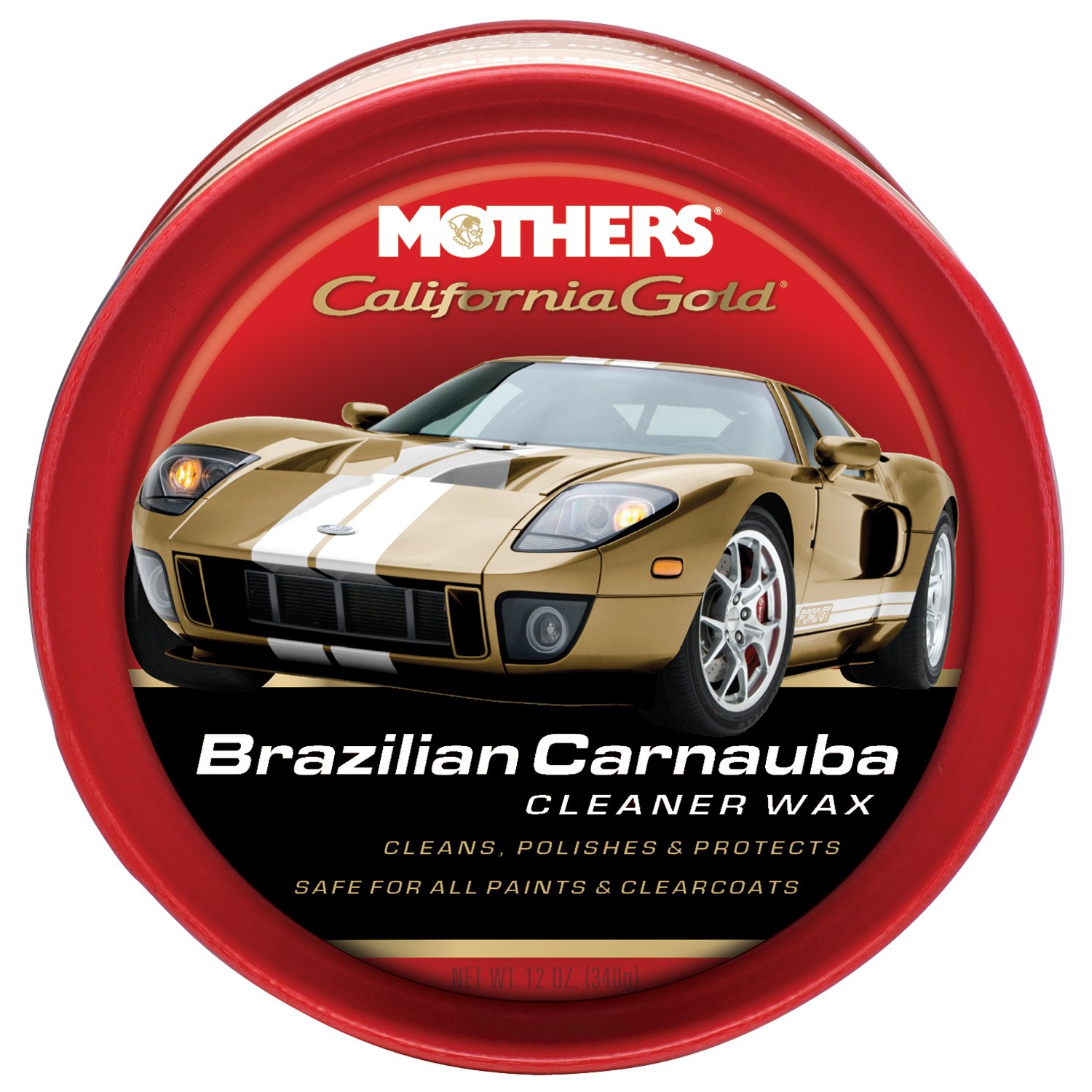 Mothers California Gold Brazilian Carnauba top car wax