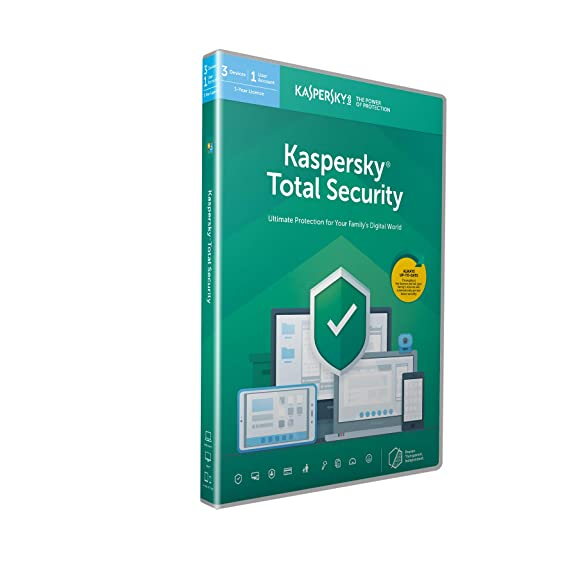 Kaspersky Total Security 2020 3 Devices 1 Year Antivirus Secure Vpn And Password Manager Included Pcmacandroid Activation Code By Post