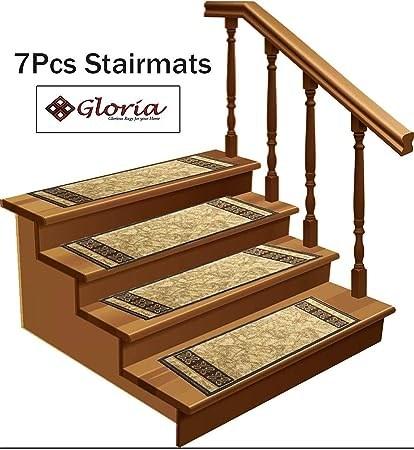 Amazon Com Stair Treads Carpet Non Slip – Stair Runners For | Rug Runners For Steps | Design | Pattern | Black | Hallway | Animal Print