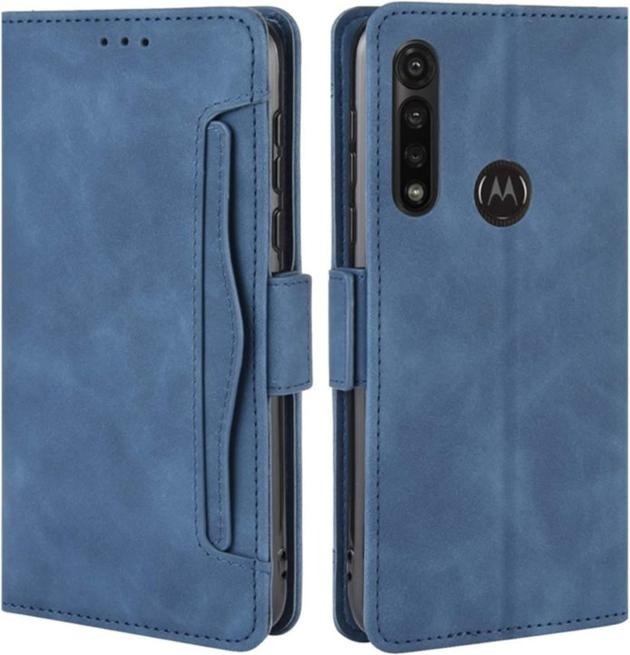 Hualubro Motorola Moto G Power Case Magnetic Full Body Protection Shockproof Flip Leather Wallet Case Cover With Card Slot Holder For Motorola Moto G