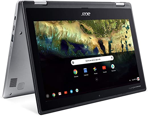 Acer Chromebook Spin 11 CP311-1H Convertible Laptop, Celeron N3350, 11.6in HD Touch, 4GB DDR4, 32GB eMMC, Google Chrome (Renewed)