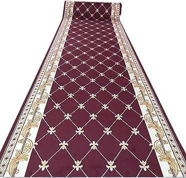 Amazon Com Non Slip Soft Printed Carpet Aisle Stairs Anti Slip | Printed Carpet For Stairs | High Traffic | Gray | Karastan Patterned | Georgian | Middle Open Concept