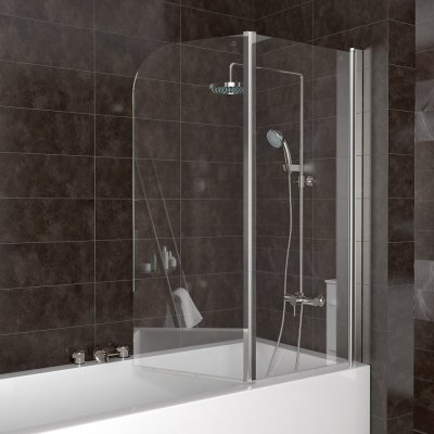 duschabtrennung glas badewanne. Black Bedroom Furniture Sets. Home Design Ideas