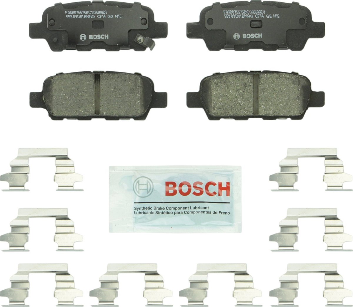 How to Double Clutch Bosch BC905 QuietCast Premium Ceramic Disc Brake Pad For: Infiniti: (EX,FX,G,JX,M,Q,QX,X); Nissan 350Z, 370Z, Altima, Juke, Leaf, Maxima, Murano, Pathfinder, Quest, Rogue, Sentra, X-Trail + More, Rear
