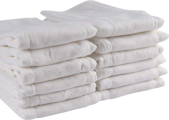 Pre-fold unbleached premium Cloth Diapers