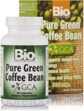 Pure Green Coffee Bean -best dietary supplement for weight loss