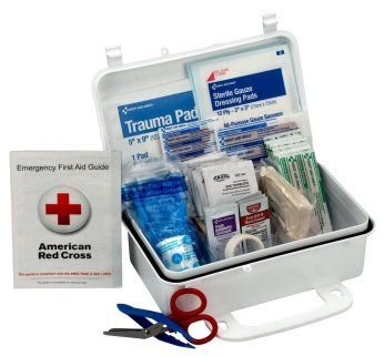 Amazon.com: First Aid Only 10 Person First Aid Kit, Weatherproof ...