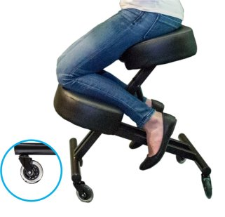 Sleek form Ergonomic Kneeling Chair for Posture