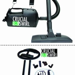 Crucial Swirl Powerful Handheld Portable Vacuum Cleaner, by Crucial Vacuum