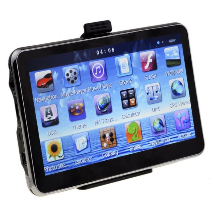 dual-core touchscreen GPS