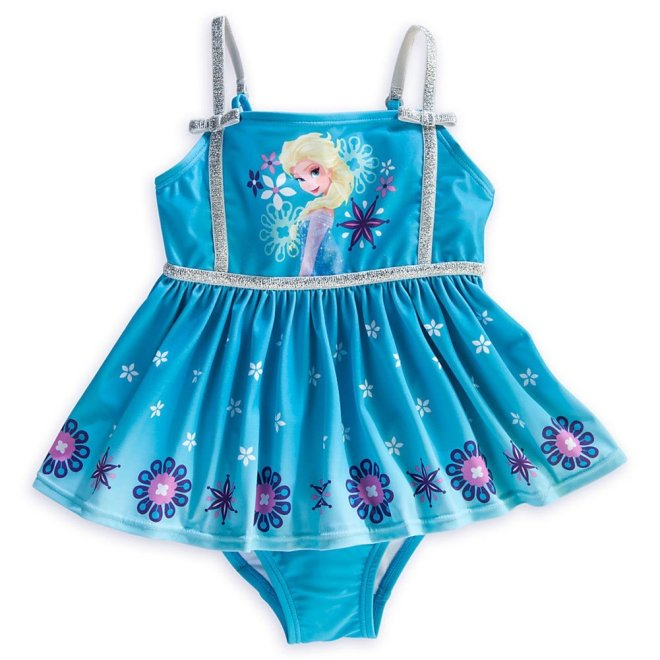 c58ea61757 Disney Store Frozen Princess/Queen Elsa Swimsuit