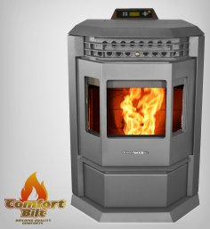 Comfortable Pellet Stove HP22- 50,000 BTU