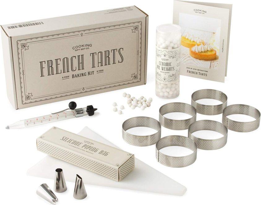 Cooking Gift Set | French Tart Baking Kit | Gifts for Bakers | Gifts for Her | Baking Gifts | Baking Set for Adults