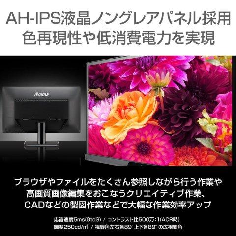 iiyama XU2290HS-B2 AH-IPS採用