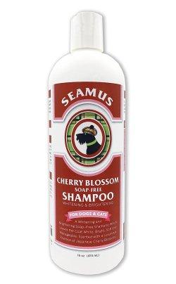 Seamus Cherry Blossom Professional Hypoallergenic & Whitening Dog Shampoo-Soap Free